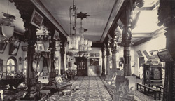 Interior of Karikal Thotti Palace, Mysore.